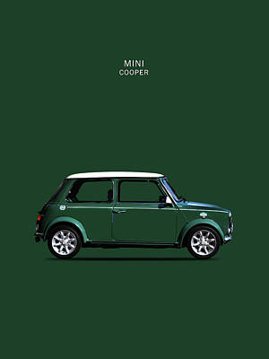 The Mini Cooper Poster by Mark Rogan