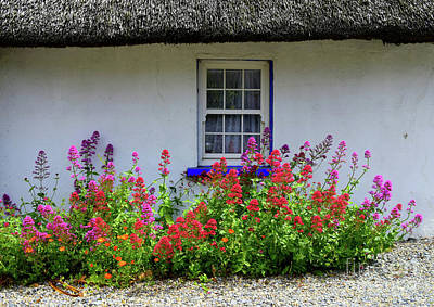 The Old Thatched Home Poster