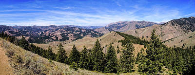 The Boulder Mountains Poster by M Images Fine Art Photography and Artwork