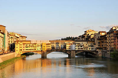 The Ponte Vecchio In Florence Poster