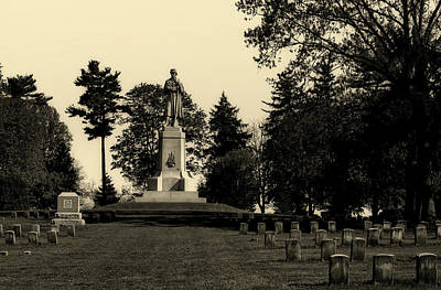 The Private Soldier Monument - Antietam Poster