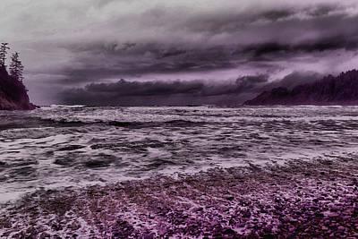 The Raging Ocean Poster