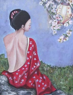 The Red Kimono Poster