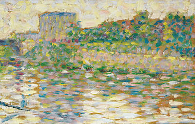 The Seine At Courbevoie  Poster by Georges-Pierre Seurat