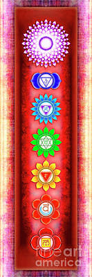 The Seven Chakras - Series 6 Artwork 3 Poster