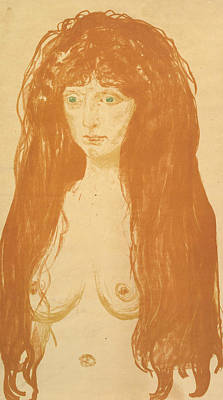 The Sin Poster by Edvard Munch