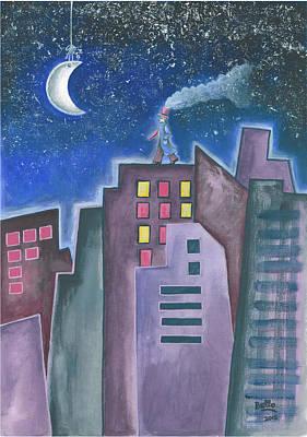 The Sleepwalker II Poster by Graciela Bello