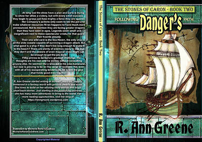 The Stones Of Caron Book Two Following Dangers Path Poster by Michelle Rene Goodhew