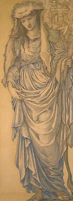 The Tiburtine Sibyl  Poster by Edward Burne-Jones