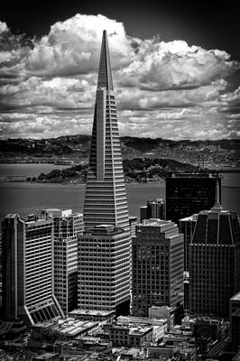 The Transamerica Building Poster by Mountain Dreams