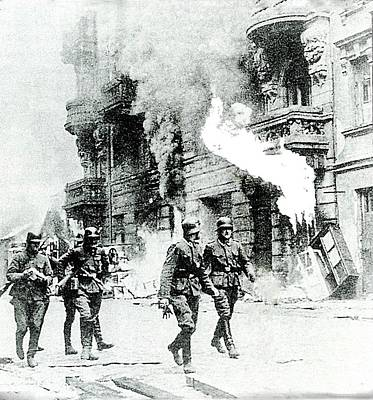 The Warsaw Ghetto Uprising Number 2 1943 Poster