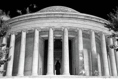 Poster featuring the photograph Thomas Jefferson Memorial  by Mitch Cat