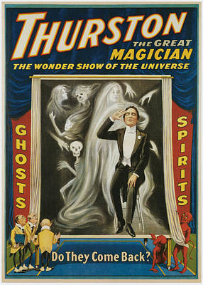 Thurston The Great Magician Poster by Unknown