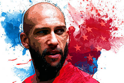 Tim Howard Poster by Semih Yurdabak