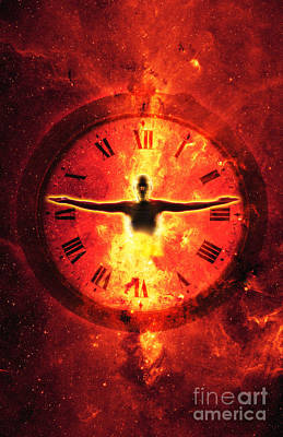 Time Poster by George Mattei
