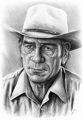 Tommy Lee Jones Poster
