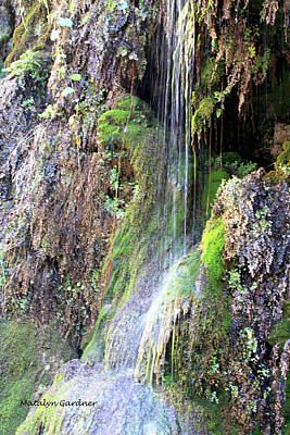 Tonto Waterfall Cave Poster