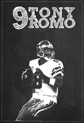 Tony Romo Poster by Semih Yurdabak