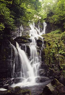Torc Waterfall, Killarney, Co Kerry Poster by The Irish Image Collection