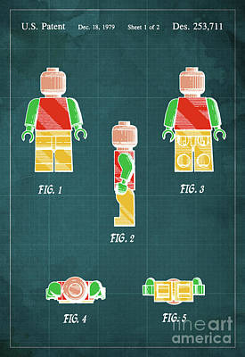 Toy Figure Patent Year 1979 Poster