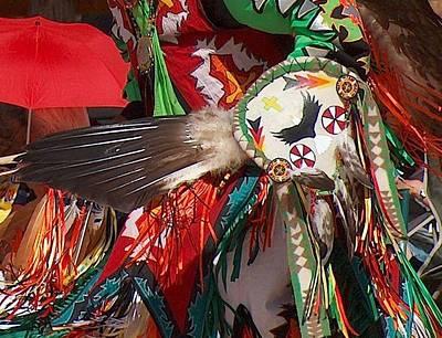 Traditional Dancer Detail Poster