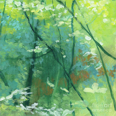 Trees 2 Poster by Melody Cleary