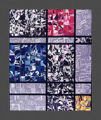Tribute To Mondrian. 85 Poster