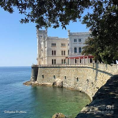 Trieste Miramare Castle Poster
