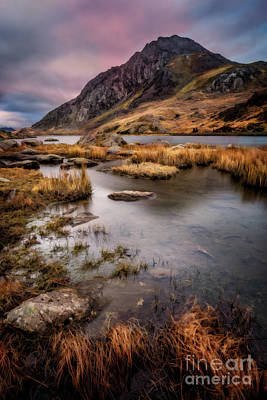 Tryfan Mountain Poster by Adrian Evans