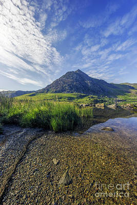 Poster featuring the photograph Tryfan Mountain by Ian Mitchell