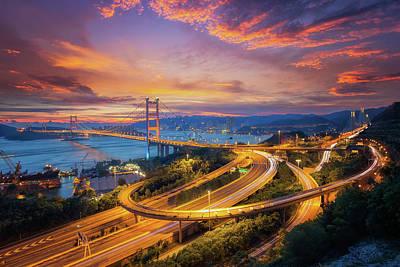 Tsing Ma Bridge Poster
