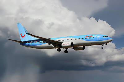 Tui Fly Boeing 737-8k5 Poster