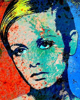 Twiggy-2 Poster by Otis Porritt