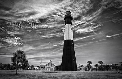 Tybee Island Lighthouse Poster by Gestalt Imagery