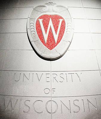Uw Crest Poster by Todd Klassy