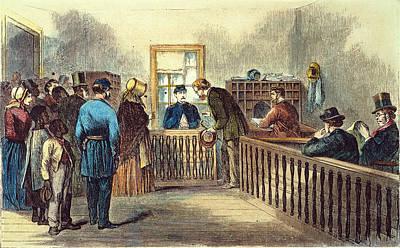 Va: Freedmens Bureau 1866 Poster by Granger