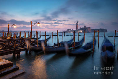Poster featuring the photograph Venice Dawn by Brian Jannsen