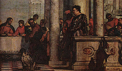 Veronese Feast In The House Of Levi  Poster