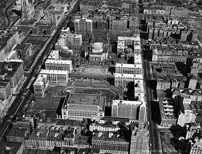 View Of Columbia University Poster