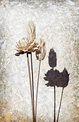 Vintage Floral 1 Poster by Al Hurley