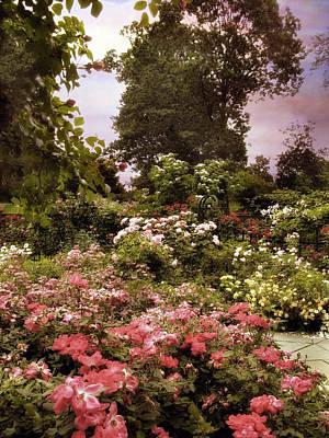 Vintage Garden Poster by Jessica Jenney