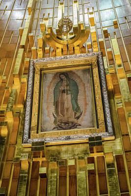 Virgen De Guadalupe Vii - Mexico Df Poster
