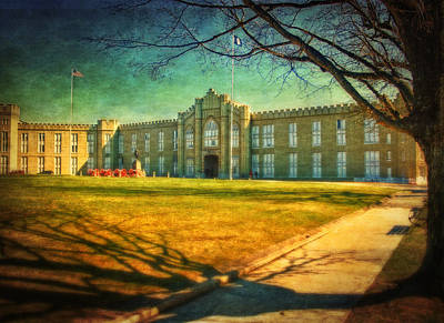 Virginia Military Institute  Poster by Kathy Jennings