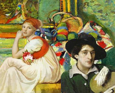 Visiting Matisse Poster
