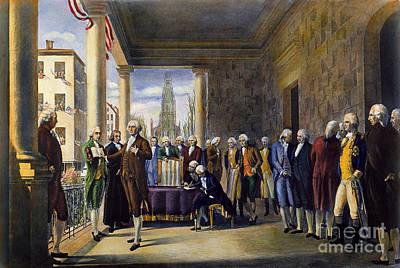 Washington: Inauguration Poster by Granger