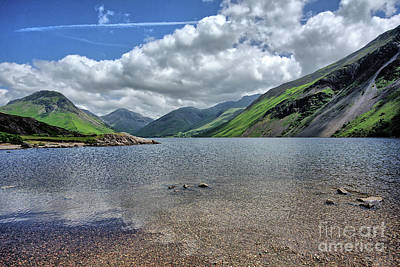 Wastwater Poster by Nichola Denny
