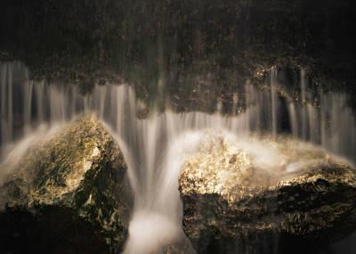 Waterfall Detail Poster by Scott Meyer