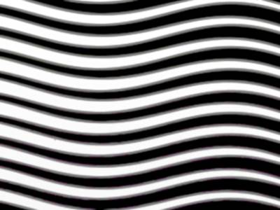 Wavy Stripes Poster by Gina Lee Manley