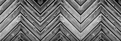 Weathered Wood Poster by Larry Carr