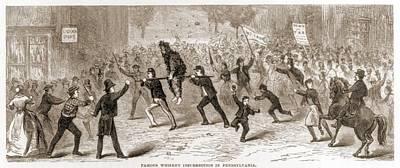 Whiskey Rebellion In Pennsylvania 1795 Poster